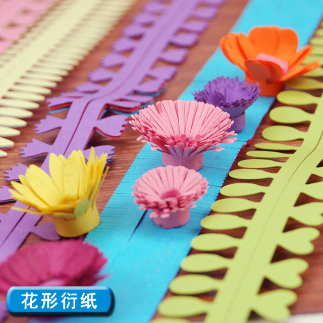 Aliexpress buy 18pcs color flower paper rolling stereo diy 18pcs color flower paper rolling stereo diy 9colors handmade paper quilling material mightylinksfo