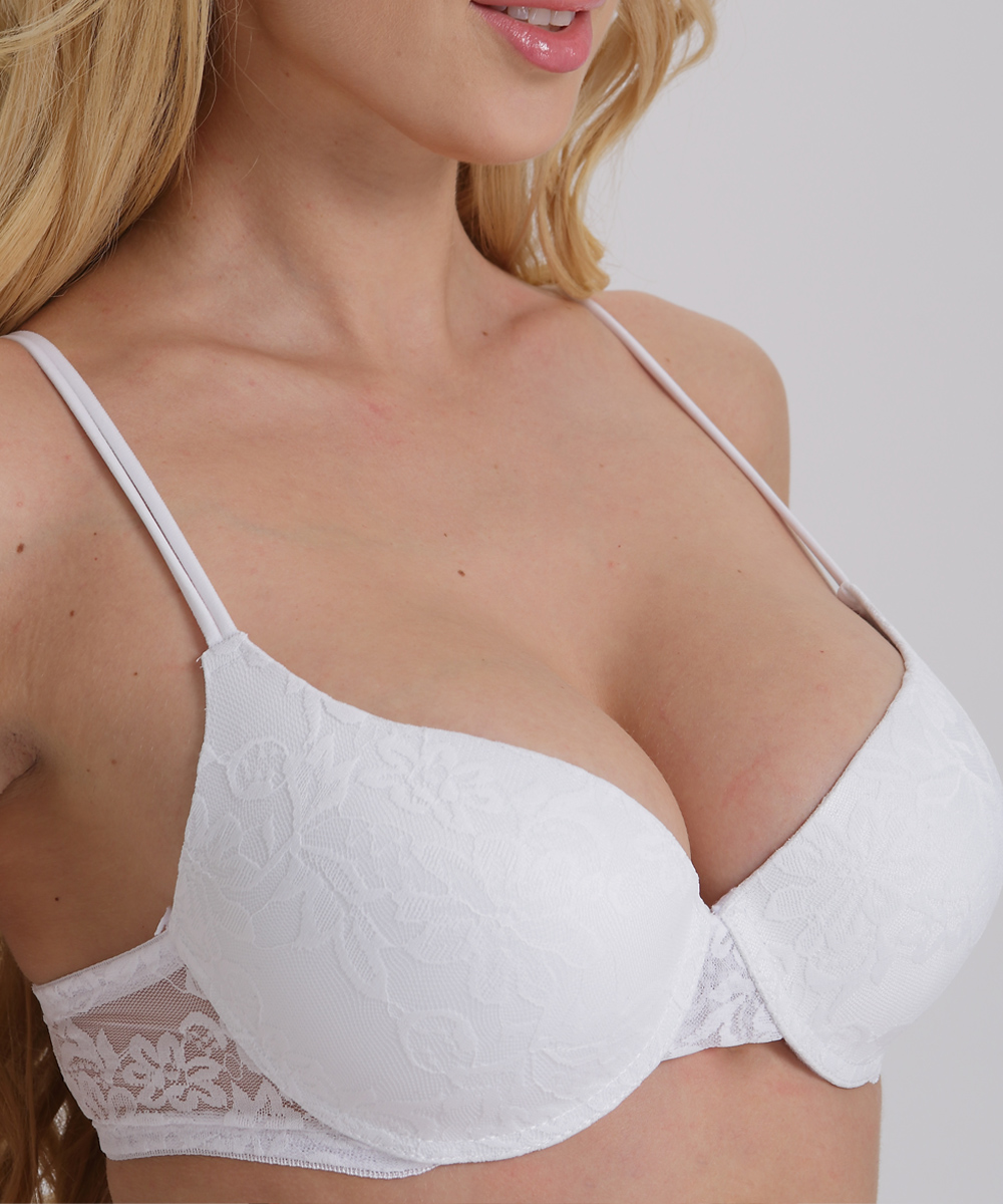 Sexy Push Up Bra Plus Size A B C D Cup Women Bra Brassiere Adjustment Plunge Lingerie Bras For Women Underwire Underwear BH Top