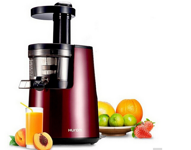 New hurom slow Juicer hu-600wn Fruits Vegetable Low Speed Juice extractor whole slow juicer 300w 75 cm fruits low speed juice extractor juicers fruit machines