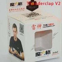 Qiyi The New Thunderclap 5 6cm 3x3x3 Speedcube Professional Black White Stickerless Primary Twist Puzzle Cubes