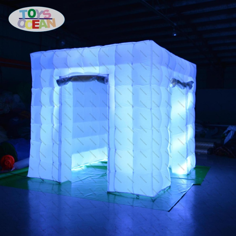 Led Inflatable Photo Booth Cube Tent For Sale Modern Techniques