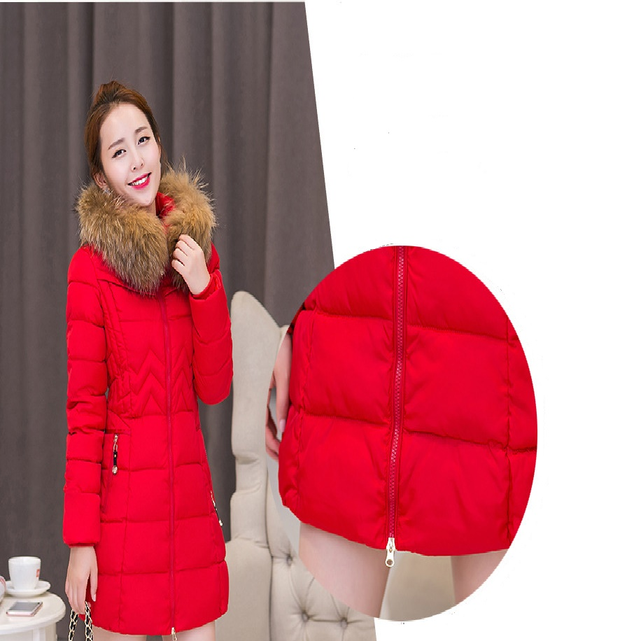 M-6XL women winter coat Plus Size winter warm coat fashion Warm Parkas Medium Long Wadded Jacket Thick Hooded Cotton outwear