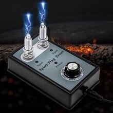 Свечи зажигания автомобиля тестер свечей зажигания 1000-6000 об./мин. 2 отверстия свечи зажигания тестер Катушки Зажигания Тестер диагностический инструмент Питание в качестве подарка