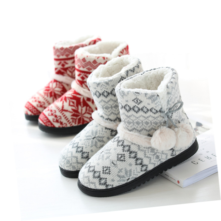 Warm Slip-On Winter Ankle Boots 1