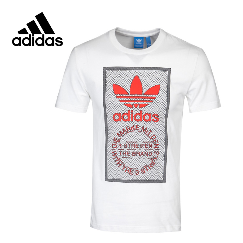 Adidas Original New Arrival Official Originals TFR GRAPHIC T 2 Men's T-shirts short sleeve Sportswear BQ3147 original new arrival 2017 adidas neo label graphic men s t shirts short sleeve sportswear