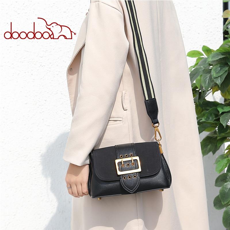 Novas Mulheres Genuínas Sacos de Ombro de Couro Das Senhoras do Desenhador Fio de Grande Capacidade Messenger Bag Crossbody Moda Bolsas 2 cintas - 6