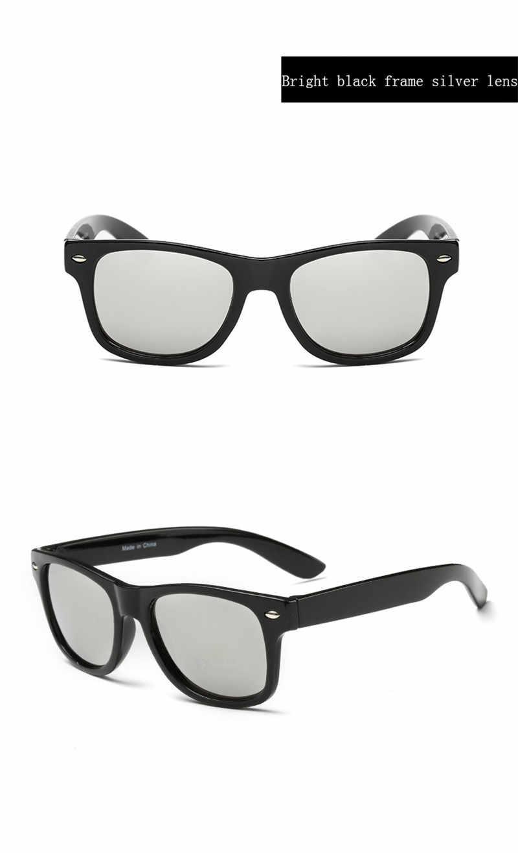 Cool 6-15 ปีเด็กแว่นตากันแดดแว่นตากันแดดสำหรับเด็กชายหญิงแฟชั่น Eyewares เคลือบเลนส์ UV 400 Protection กับกรณี