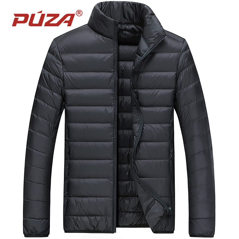 PUZA Brand Winter 2018 New men Casual ultralight   Down     coat   Jacket Men Autumn Winter Warm   Coat   male duck   Down     coat   Jacket