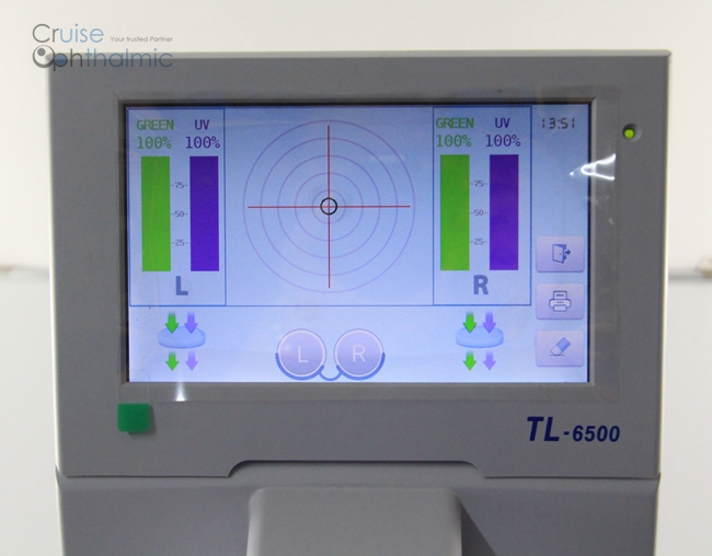 7 00 inch Touchable Screen Auto Lensmeter TL6500C | Lensometer UV tester |  Dioptrimeter CE certificated