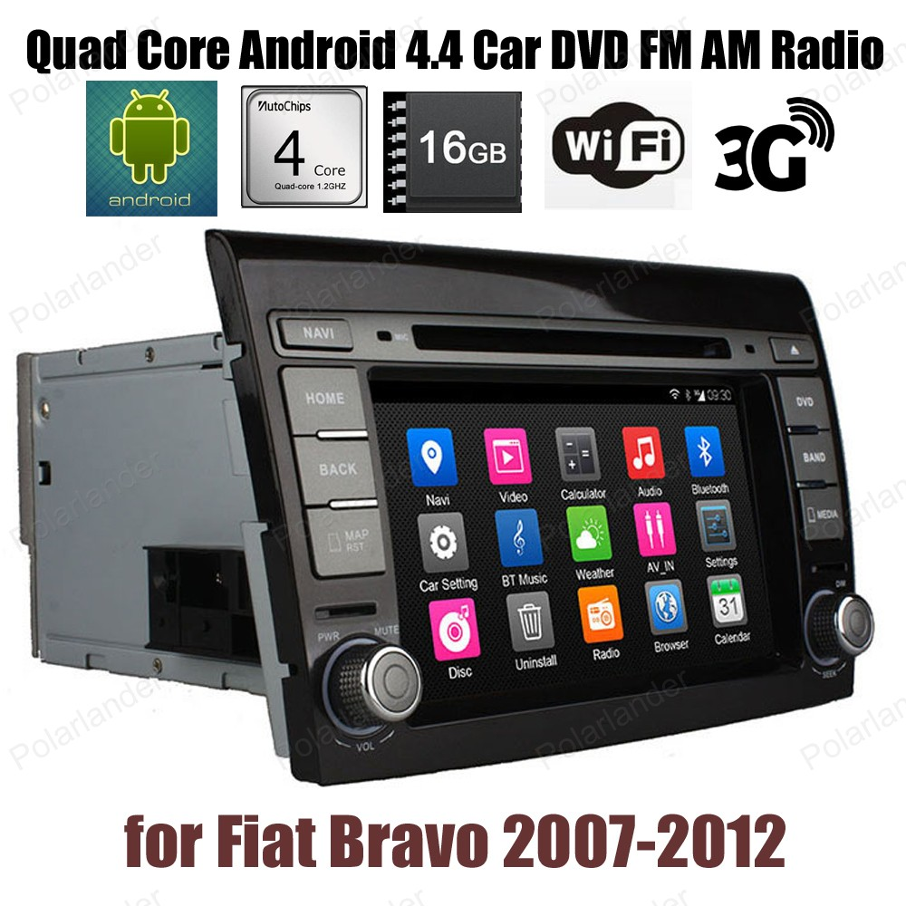 Android4 4 16G ROM 7 inch Car DVD Support DTV GPS BT 3G WiFi DAB font