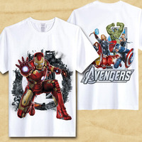dbe7ce309 Xinyu Men T Shirt Captain America Civil War Tee Marvel Avengers Iron Man  Short T