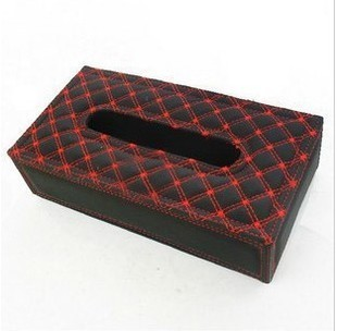 High fashion paper towel box small car in the car with tissue paper bag supermarket