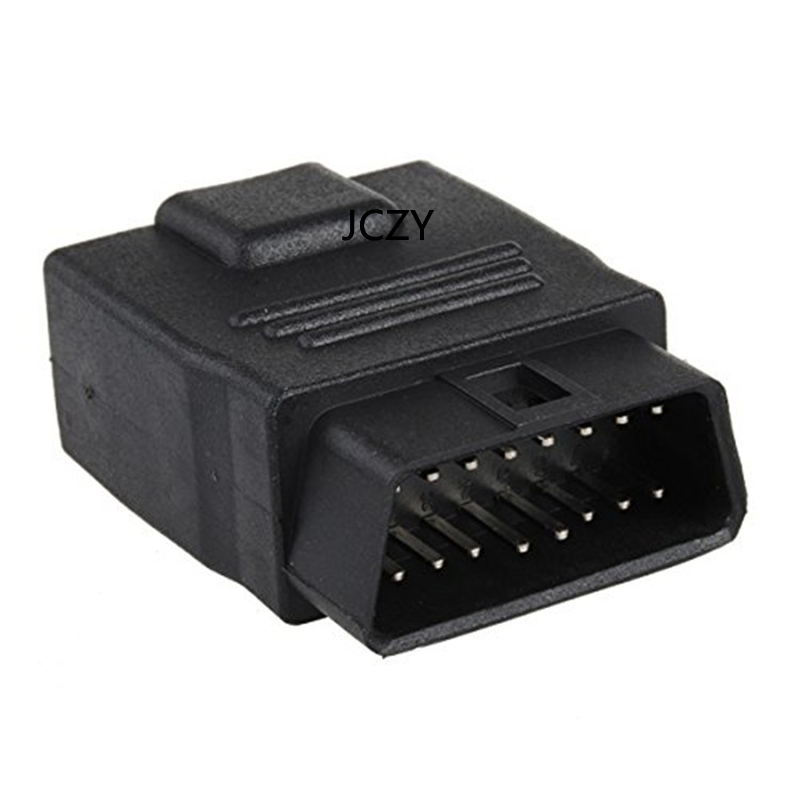 New OBD 2 Plug Male To Female Adapte Car Diagnostic Cable And Connector 24V / 12V Universal Truck To Car OBD Socket Diagnostics