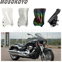 Motorcycle Windshield Dark Smoke Windscreen PC Screen for Suzuki Boulevard M109R M109R2 M50 M90 Boss Limited 2006 2016 Deflector