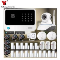 433mhz Android IOS APP Wireless Touch Screen Alarm System Security Home Wifi Gsm Alarm System G90B