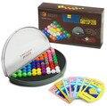 Высоко Ценится 3D 2D Шарики Головоломки IQ Логическая Разум Логические Детские Развивающие Игры Игрушки для Детей 638 Проблемы
