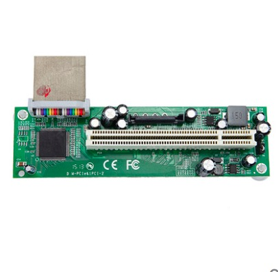 PCIe express to PCI slot riser card