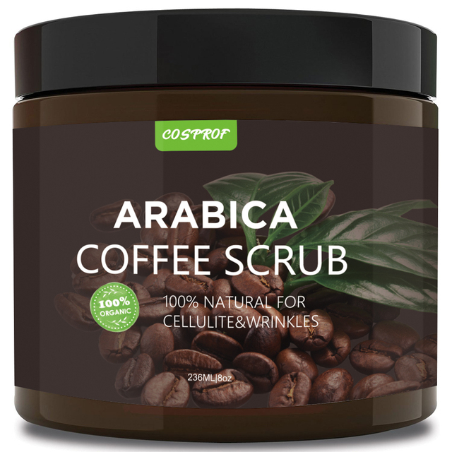 Cosprof Coffee Exfoliating Body Scrub  3