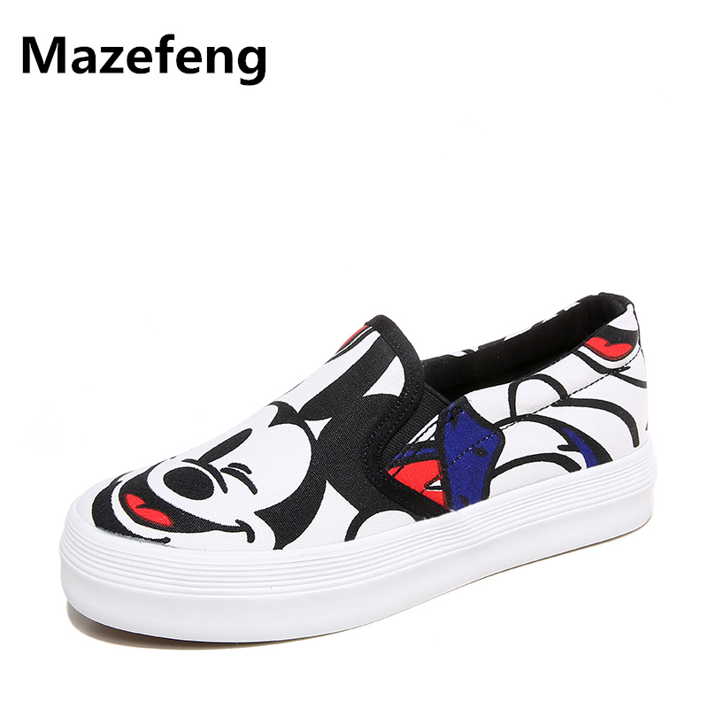 2016 spring Korean cartoon animation canvas shoes flat lazy casual women shoes tide espadrilles loafer mujeres zapatos 2015 summer shallow mouth of canvas shoes women shoes a pedal lazy shoes casual flat white shoes korean wave shoes