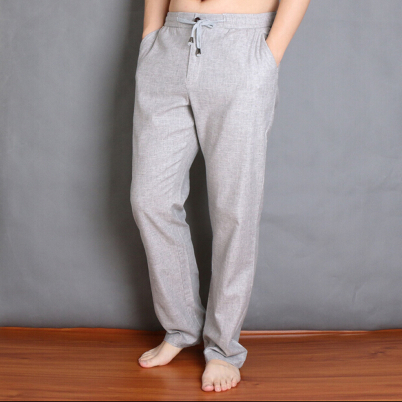 Casuales Oscuro Verano Lino Para light Pantalones De Hombres gris Gran L Y Green Plus Beige Tamaño Ropa Primavera 5xl Delgado P5TSIq5