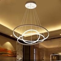 Hause kommerziellen anhänger lampe 3/2/1 kreis von aluminium ring lampe LED beleuchtung lampen kostenloser versand|lamp table lamp|lamp chineselamp outlet -