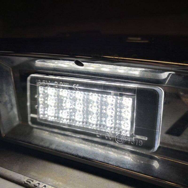 2Pcs Error Free For RENAULT Modus Grand Modus Scenic II 5D Scenic III 5D ZOE Car