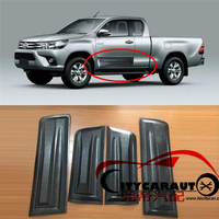 HIGH QUALITY LUXURY CAR STYLING MOULDINGS 4 4 ACCESSORIES SIDE DOOR PLATE STICKER TRD STICKER FOR