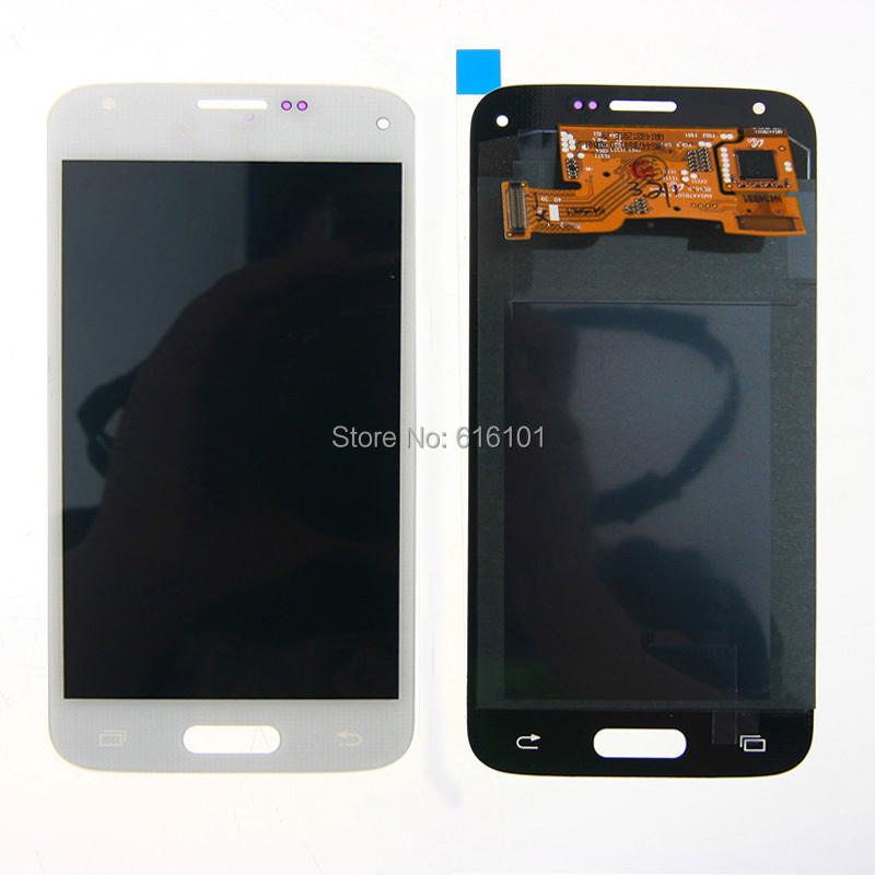 LCD Display Assembly Touch Screen Digitizer For Samsung Galaxy S5 mini G800 G800H White
