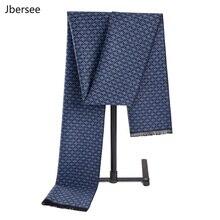 Jbersee Fashion Design Cashmere Mens Scarf Luxury Brand Neck