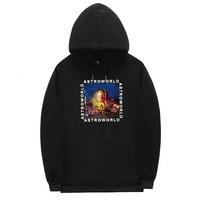 New Print Travis Scotts ASTROWORLD Hoodies Men and Women Hip Hop Streetwear Hoodies Sweatshirt Male Plus Size S 2XL
