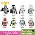 Императорский Redcoat армии Звездные войны солдат штурмовика Snowtrooper клон конструктор солдатиков из блоков игрушечные лошадки Legoe minifigured WM6036 - фото