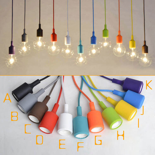 Retro E27 Light Socket Vintage Aluminium Lamp Holder Thread Supplies Antique Keyless Pendant Bulbs