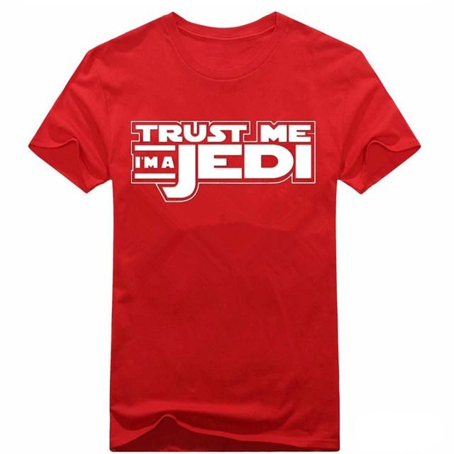 """""""Trust Me I Am a Jedi"""" T-shirt Cotton 100%"""