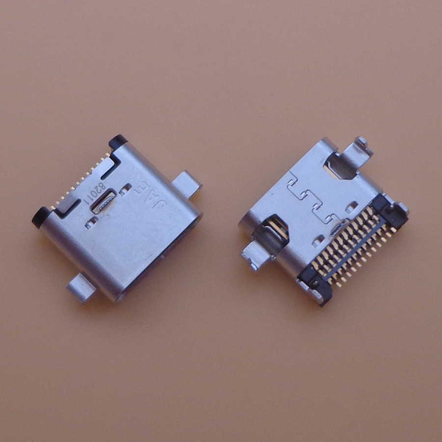 2 Pcs Usb Type C Lading Poort Jack Dock Socket Plug Voor Lenovo Zuk Z1 Z2 Z2PRO P1C72 P1C58 Opladen connector Reparatie Onderdelen
