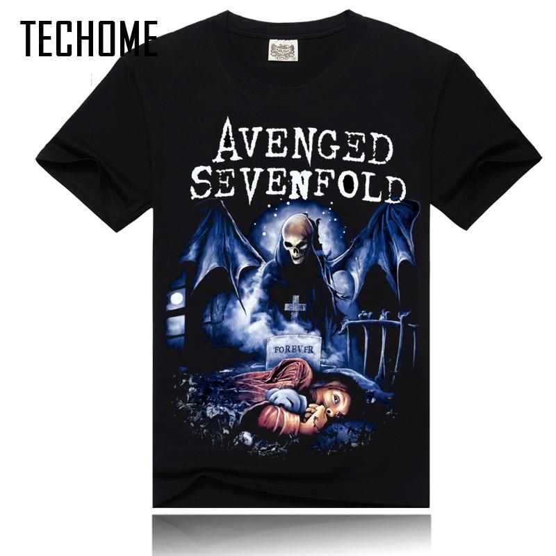 Summer T shirt 3D Printed Brand 3D t shirt New Style Heavy Metal Streetwear Men's T-shirts Cotton Casual Short Sleeve TOP Tees