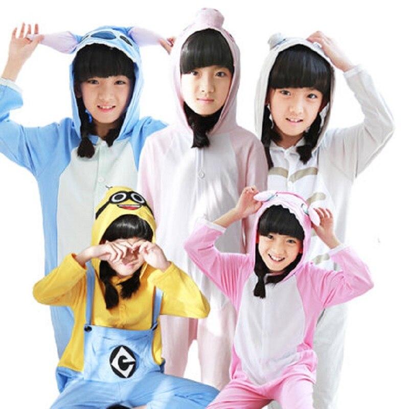 Kids Pajama Sets Unicorn Flannel Children Sleepwear Cartoon Animals For 4 5 6  7 8 9 10 11 12 Years Spring Clothes Girls Boys 7ff278619