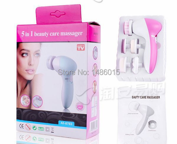 5 in 1 Electric Dead Skin Remover Wash Face Machine Facial Pore Cleaner Body Cleaning Massage Mini Skin Beauty Massager Brush new wash face machine deep clean facial skin blackhead remove massager electric pore cleansing brush beauty instrument m2
