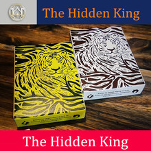The Hidden King Amur Tiger Manchurian Playing Cards Poker Size Deck By TWPCC New Sealed  Magic Tricks Props
