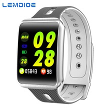 LEMDIOE Smart Watch men women heart rate blood pressure monitor Life Waterproof  pedometer sport smartband