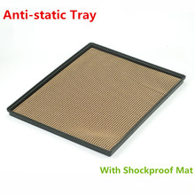 No. 12 belt cushion anti-static tray with Shockproof Mat for iPad PC Tablet Mobile LCD screen Electronic Parts