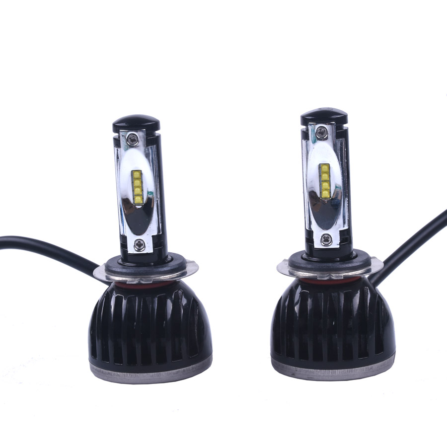 ФОТО Led Bulb For Cars Headlight Fog DRL Lamp h7 PSX24 Cob Leds Replacement For Car Headlamp External Light Source