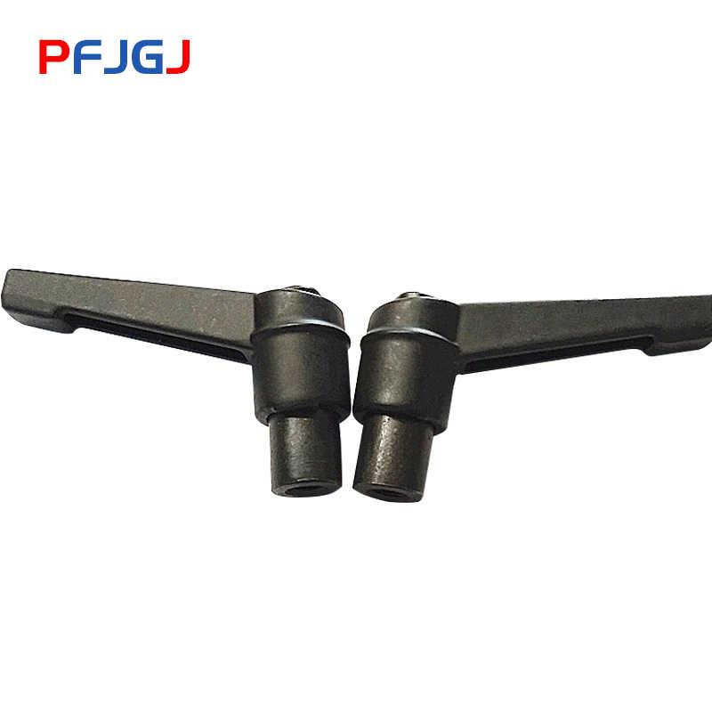 鵬 Fa 1pc M5 M6 M8 M10 M12 調節可能なハンドルレバークランプハンドル糸金属ノブ機械ツール