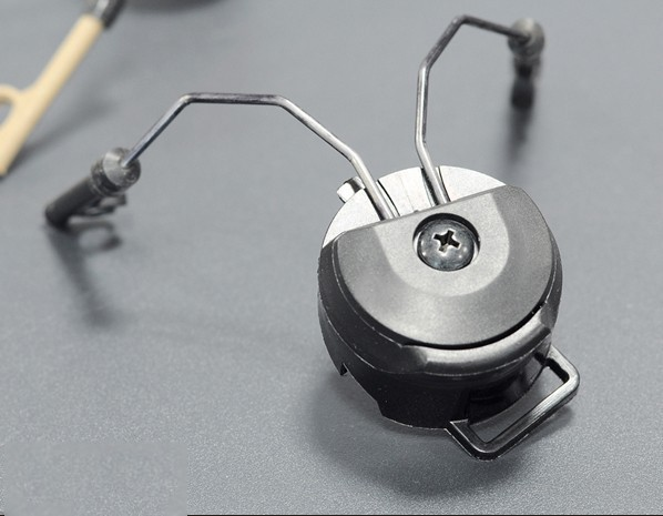 FMA PT headset en helmrailadapterset zwart TB334