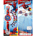 1 PCS Super Heróis Dos Desenhos Animados homem-Aranha Relógio Brinquedos Educativos Para Crianças Meninos