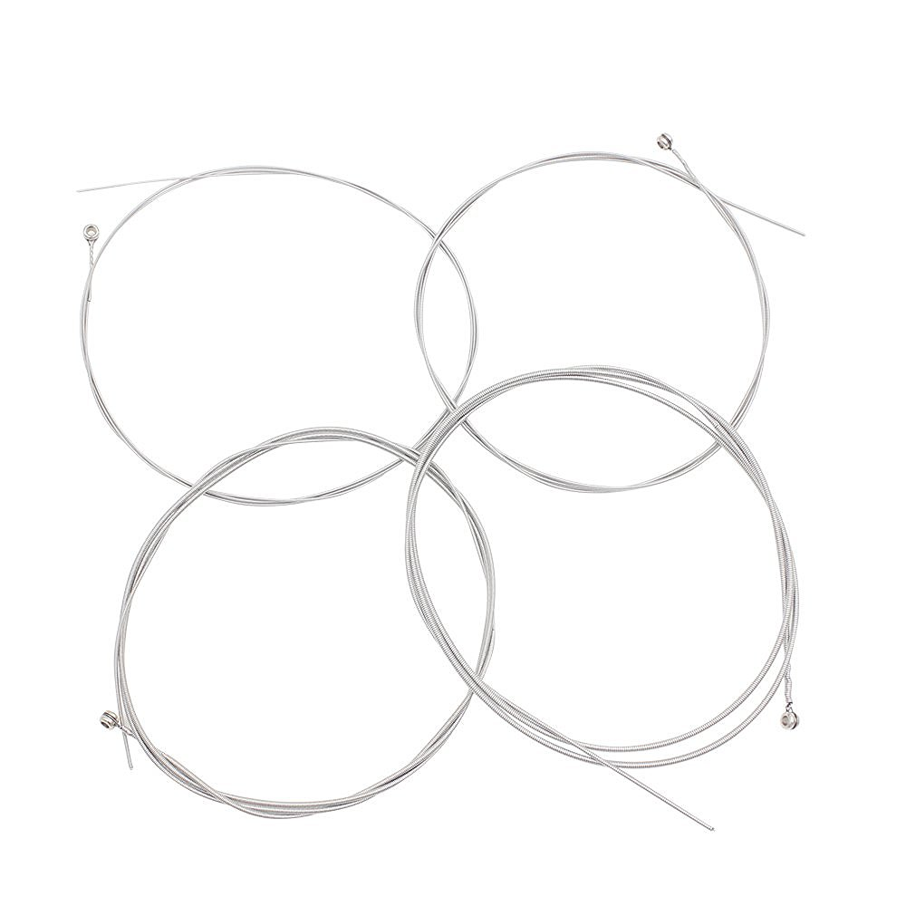 HOT 4pcs Electric Bass String Set Nickel Plated Steel