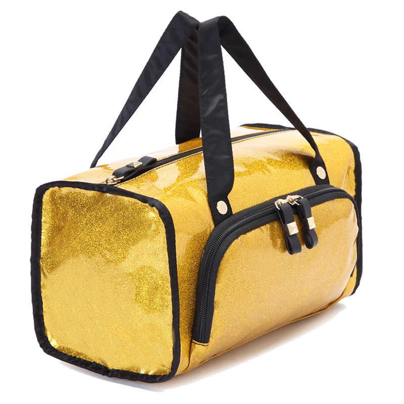 جديد العلامة التجارية النساء الرياضة حقائب الجيم للماء في الهواء الطلق الفردية الأمتعة/حقيبة سفر/حقيبة متعددة الوظائف جميلة حقيبة قاعة رياضة