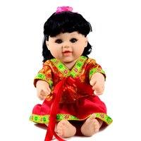 Silicone Vinyl Reborn Doll Fashion Baby Toy Brinquedos Real Dolls 48cm Simulation BJD Lifelike Doll Birthday