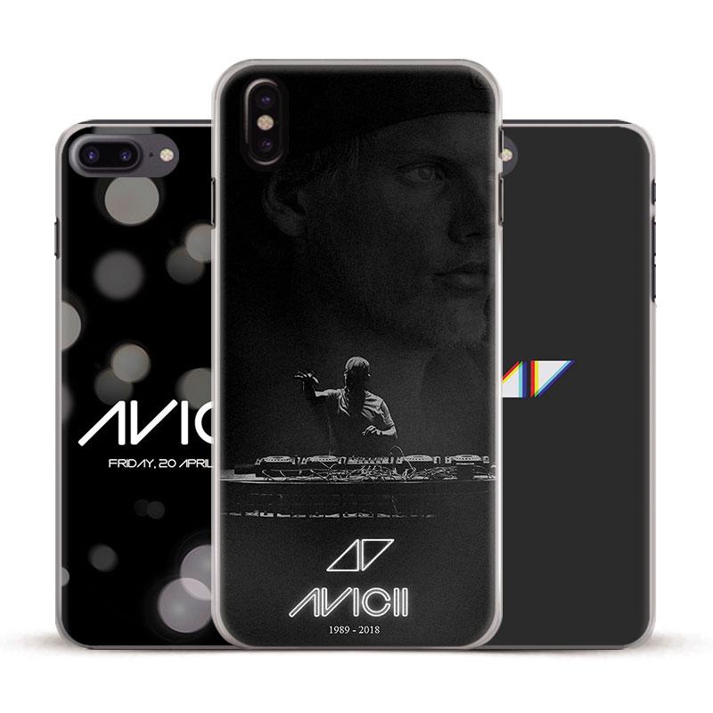 DJ Avicii Tim Bergling RIP Coque Phone Case Cover Shell For Apple iPhone 4 4s 5 5s Se 6 6Plus 6s 6sPlus 7 7Plus 8 8Plus X