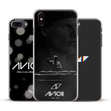 DJ Avicii Tim Bergling Rip Coque Phone Case Cover Shell untuk Apple Iphone 4 5 5 S 6 6 plus 6 S 6 S Plus 7 7 Plus 8 8 Plus X XR X Max(China)