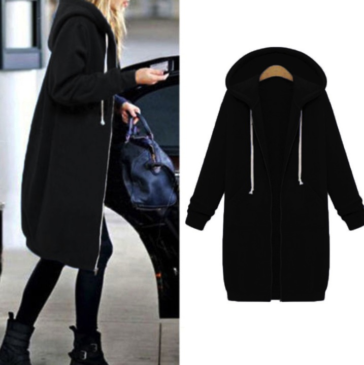 7c55ac1083d Female Hoodie Plus Size Sweatshirt Hoody For Women Thicken Hooded  Sweatshirt autumn winter fashion warm fleece Hoodies Women-in Hoodies    Sweatshirts from ...